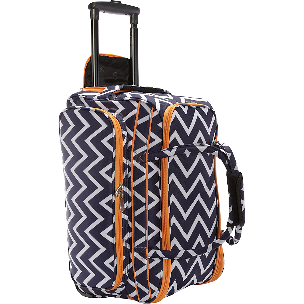Jenni Chan Madison Soft Carry All Duffel Navy Jenni Chan Travel Duffels