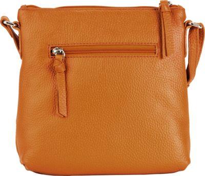 Hadaki Susan Crossbody Handbag Russet - Hadaki Leather Handbags