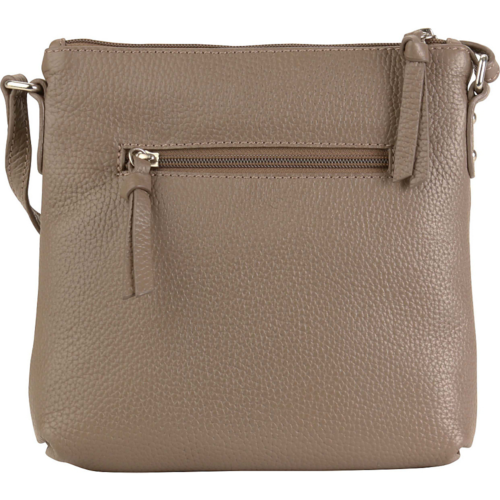 Hadaki Susan Crossbody Handbag Taupe - Hadaki Leather Handbags - Handbags, Leather Handbags