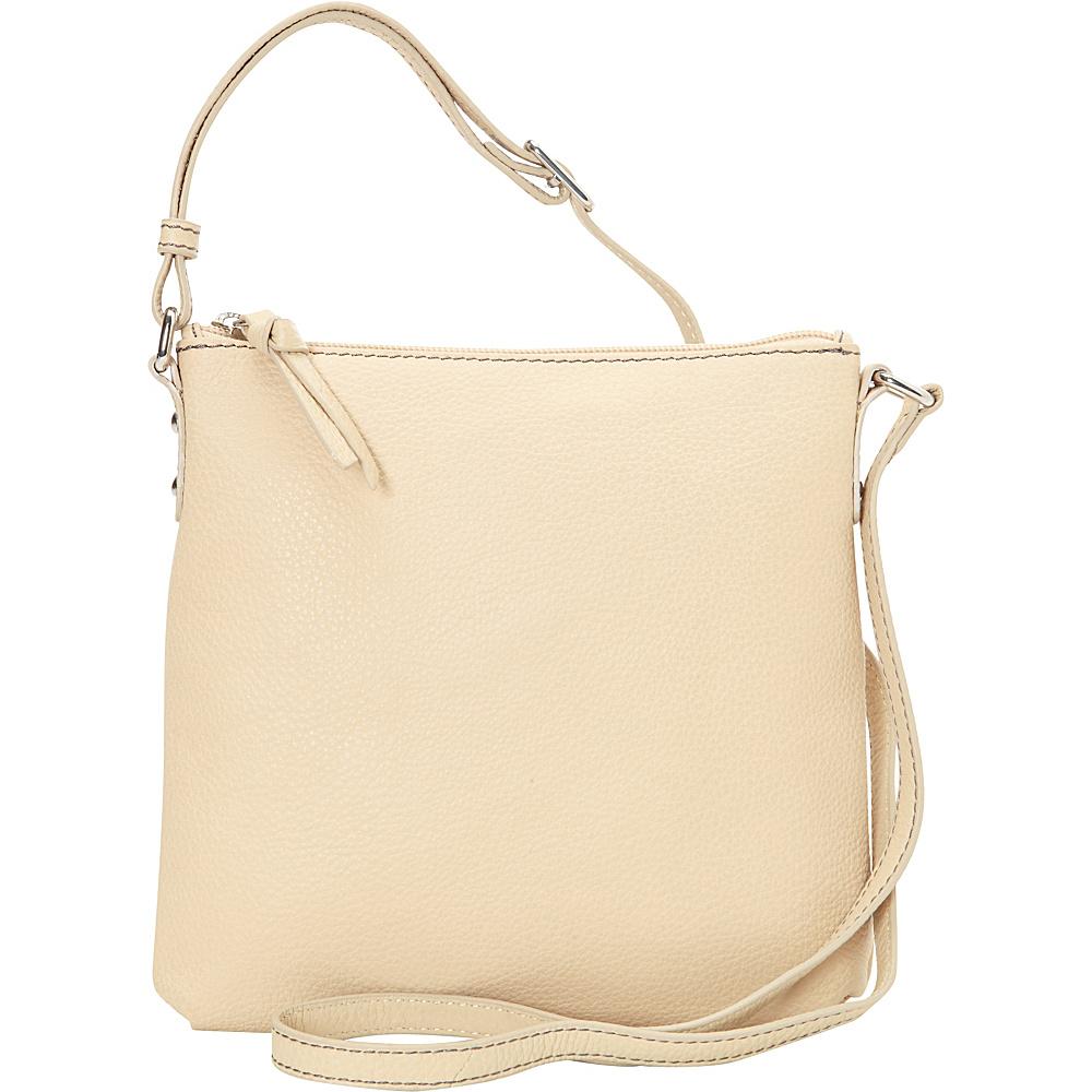 Hadaki Susan Crossbody Handbag Semolina - Hadaki Leather Handbags - Handbags, Leather Handbags