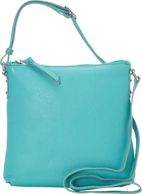 Hadaki Susan Crossbody Handbag Viridian Green - Hadaki Leather Handbags