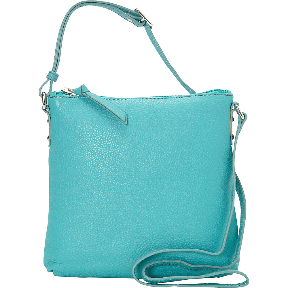 Hadaki Susan Crossbody Handbag Viridian Green - Hadaki Leather Handbags - Handbags, Leather Handbags