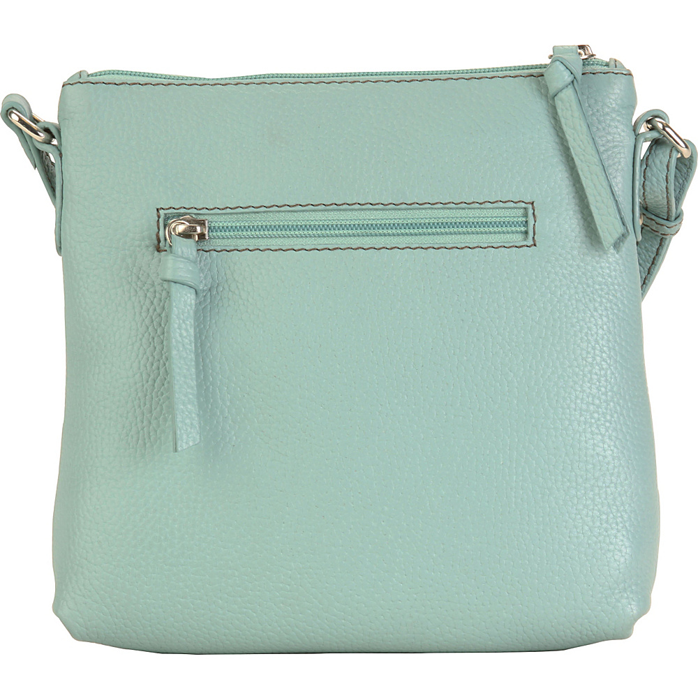 Hadaki Susan Crossbody Handbag Aquifer - Hadaki Leather Handbags - Handbags, Leather Handbags