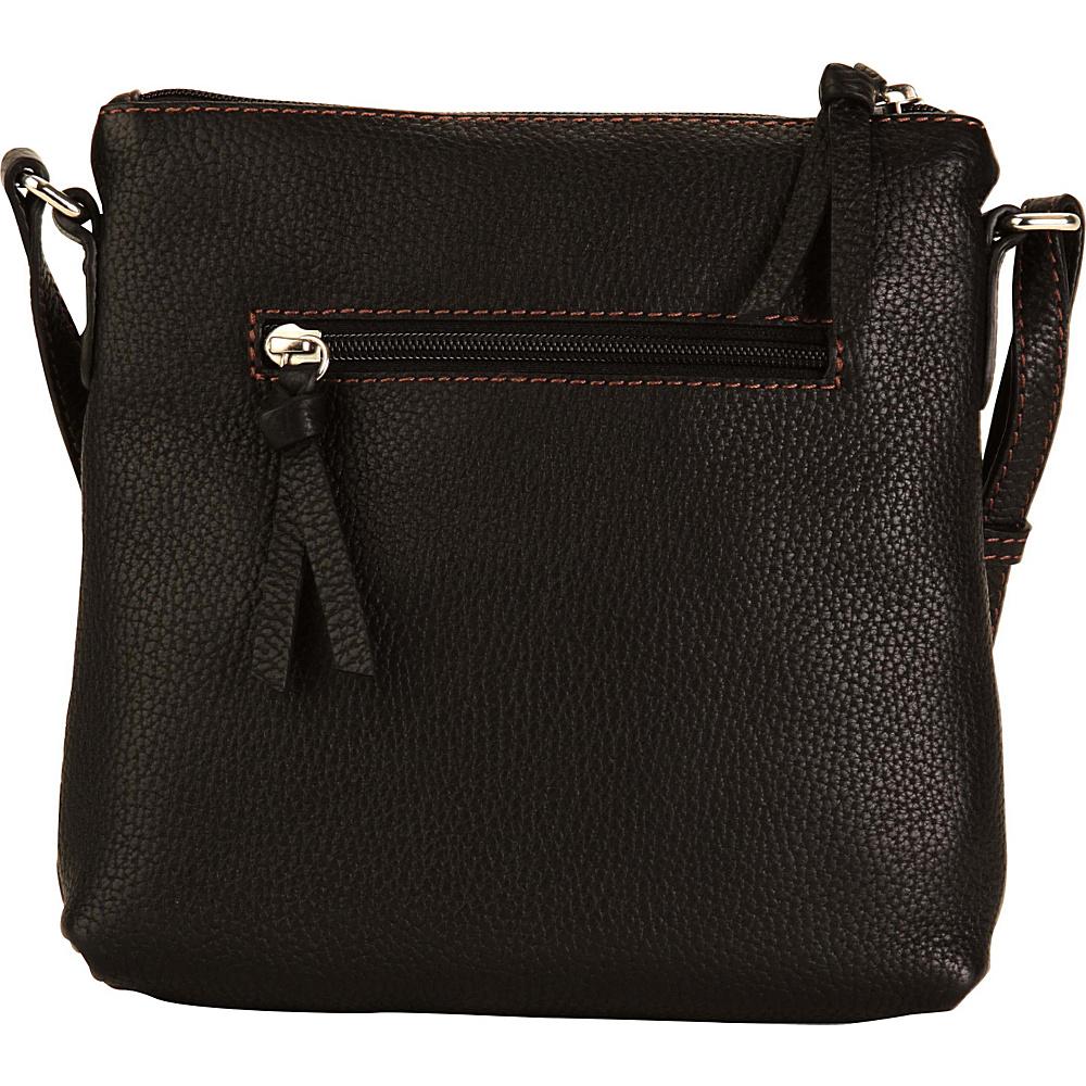 Hadaki Susan Cross body Black - Hadaki Leather Handbags - Handbags, Leather Handbags