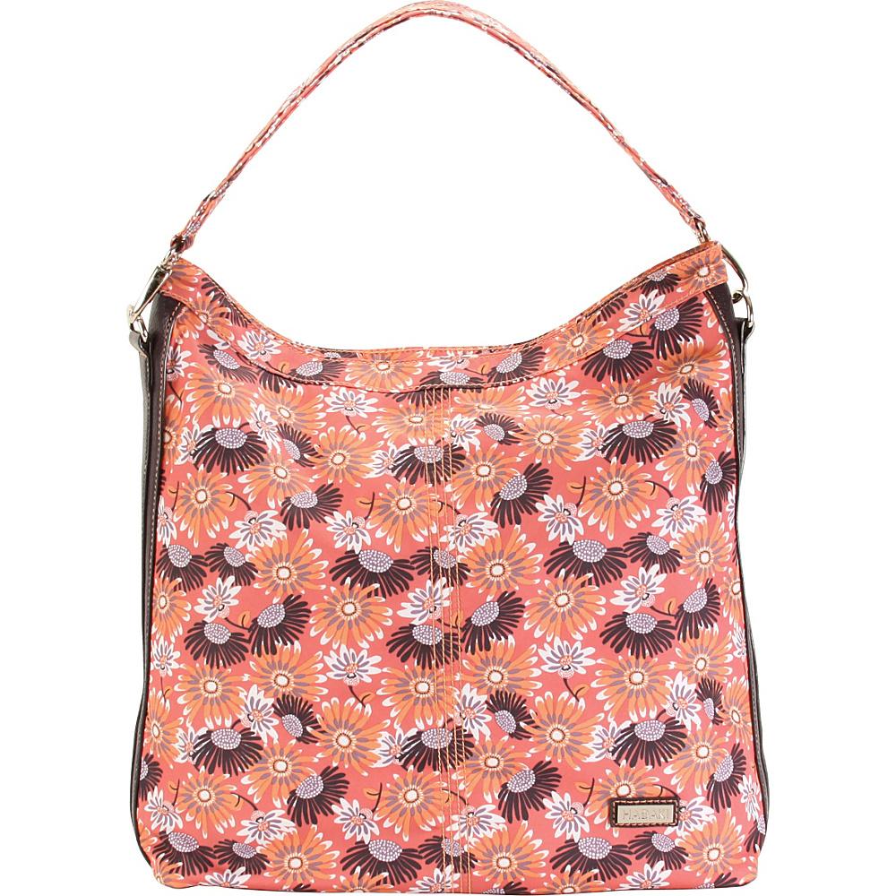 Hadaki Skinny Hobos Daisies - Hadaki Fabric Handbags - Handbags, Fabric Handbags