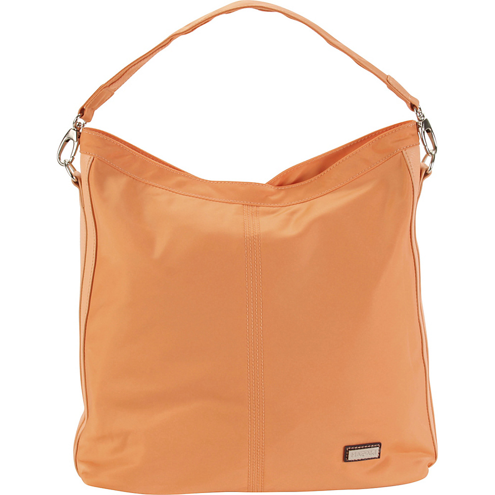 Hadaki Skinny Hobos Melon Solid - Hadaki Fabric Handbags - Handbags, Fabric Handbags