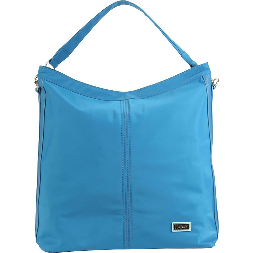 Hadaki Skinny Hobos Ocean Solid - Hadaki Fabric Handbags - Handbags, Fabric Handbags