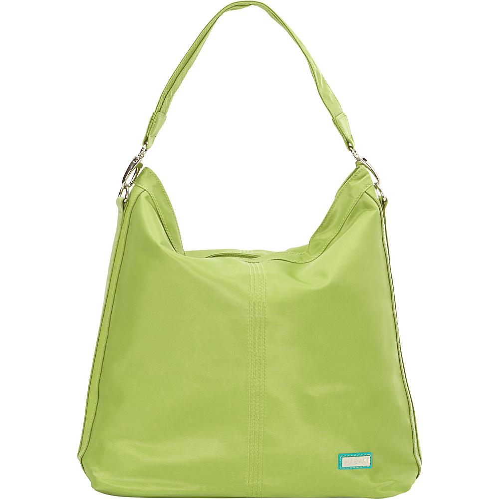 Hadaki Skinny Hobos Piquat Green - Hadaki Fabric Handbags - Handbags, Fabric Handbags