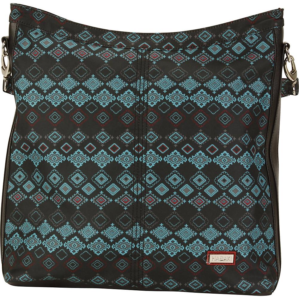 Hadaki Skinny Hobos Geo - Hadaki Fabric Handbags - Handbags, Fabric Handbags