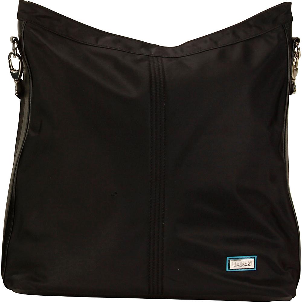 Hadaki Skinny Hobos Black - Hadaki Fabric Handbags - Handbags, Fabric Handbags