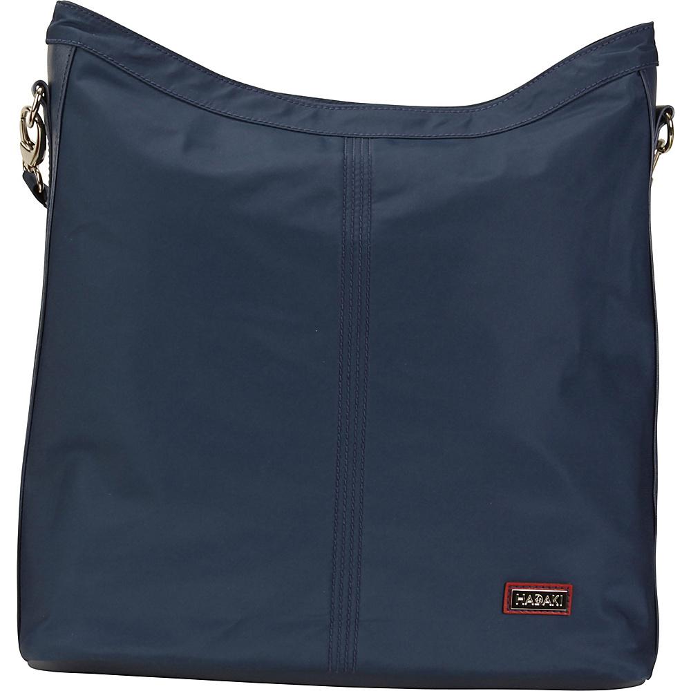 Hadaki Skinny Hobos Indian Teal - Hadaki Fabric Handbags - Handbags, Fabric Handbags