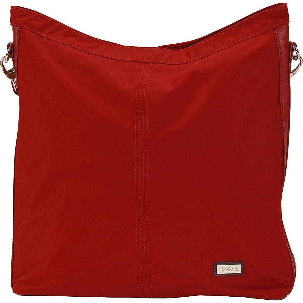 Hadaki Skinny Hobos Rhubarb - Hadaki Fabric Handbags - Handbags, Fabric Handbags