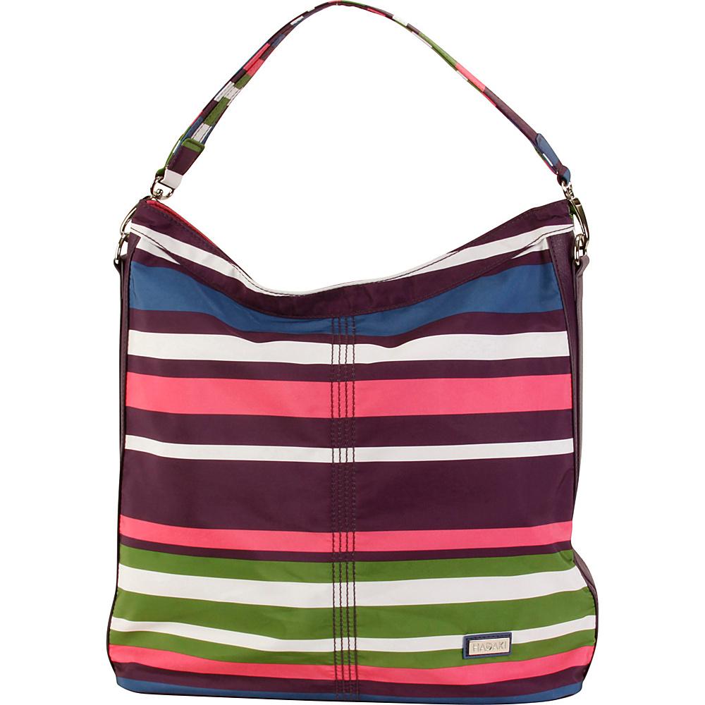 Hadaki Skinny Hobos Stripes - Hadaki Fabric Handbags - Handbags, Fabric Handbags