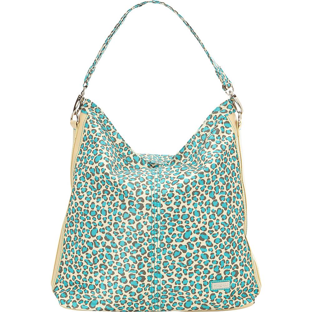 Hadaki Skinny Hobos Primavera Cheetah - Hadaki Fabric Handbags - Handbags, Fabric Handbags
