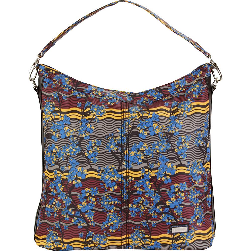 Hadaki Skinny Hobos Forget Me Nots - Hadaki Fabric Handbags - Handbags, Fabric Handbags