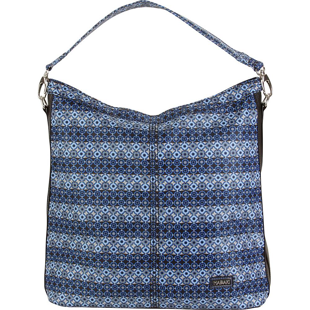 Hadaki Skinny Hobos Grid - Hadaki Fabric Handbags - Handbags, Fabric Handbags