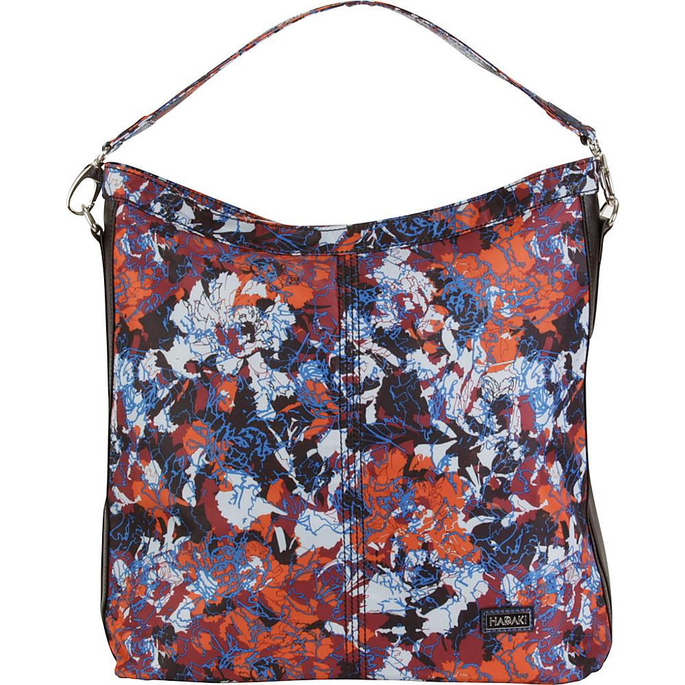 Hadaki Skinny Hobos Watercolors - Hadaki Fabric Handbags - Handbags, Fabric Handbags