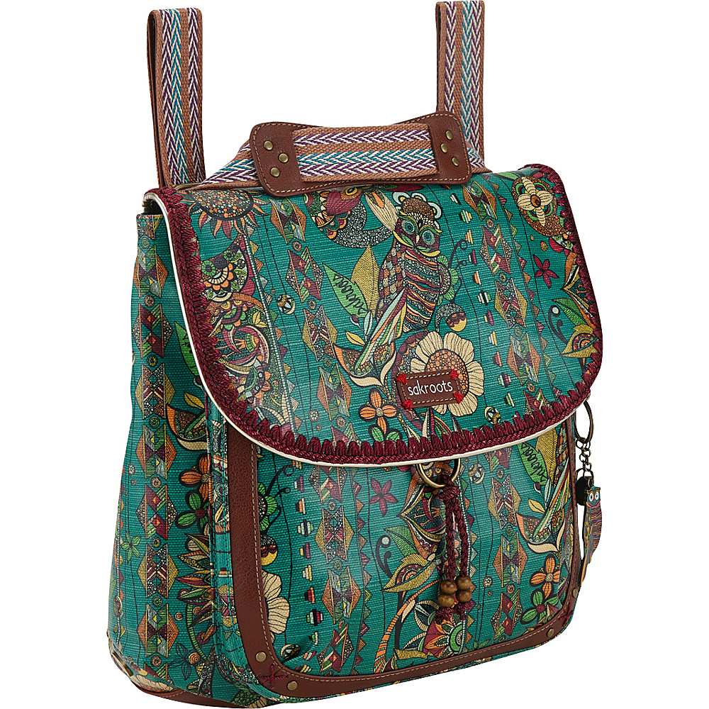 Sakroots Artist Circle Coated Convertible Backpack