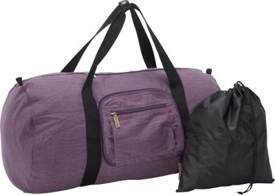 Sacs Collection by Annette Ferber Duffle 2: Two piece Set Canvas Purple - Sacs Collection by Annette Ferber Travel Duffels