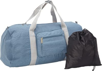 Sacs Collection by Annette Ferber Duffle 2: Two piece Set Canvas Blue - Sacs Collection by Annette Ferber Travel Duffels