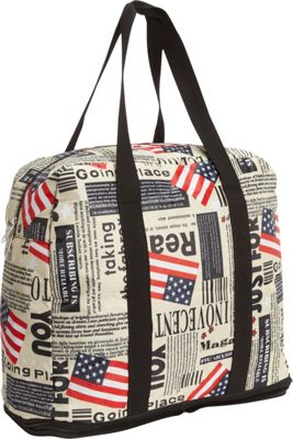 Sacs Collection by Annette Ferber Sacs Collection by Annette Ferber Ultimate Traveler Flag Pattern - Sacs Collection by Annette Ferber All-Purpose Totes