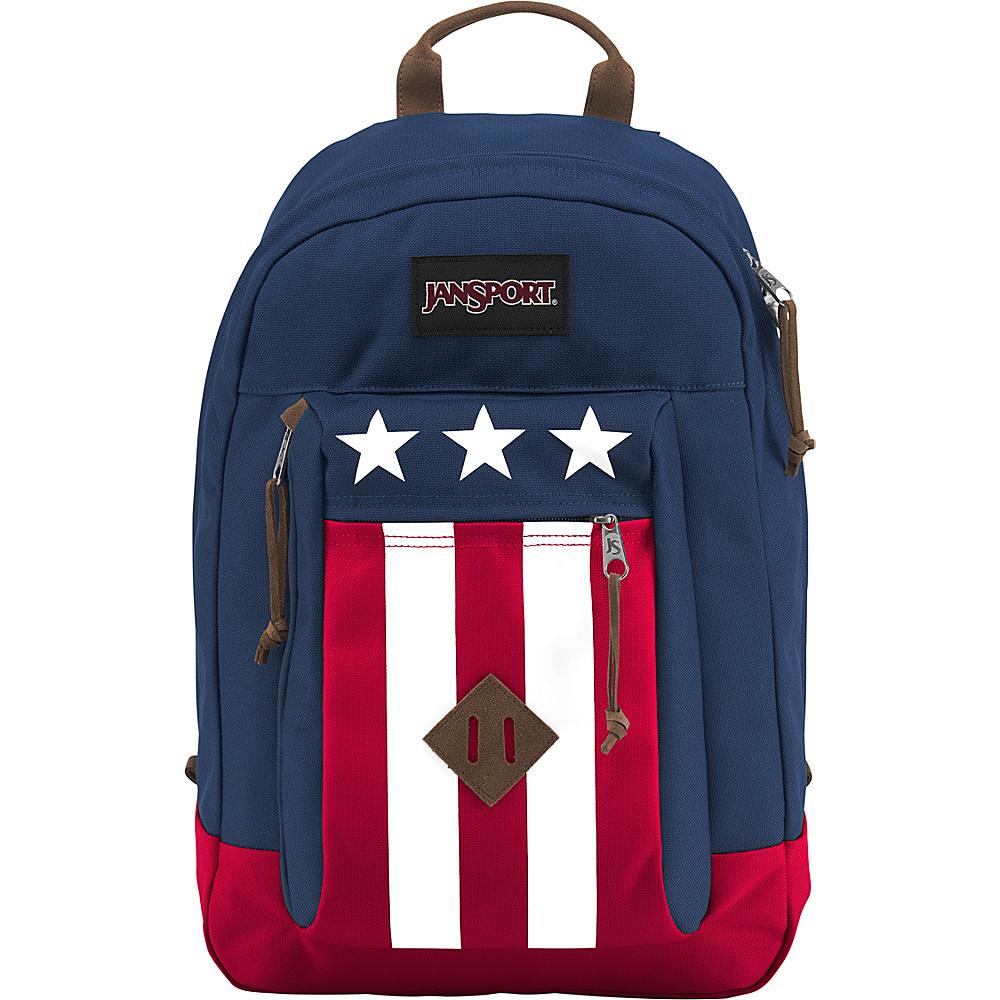JanSport Reilly Backpack Navy Easy Rider - JanSport Business & Laptop Backpacks