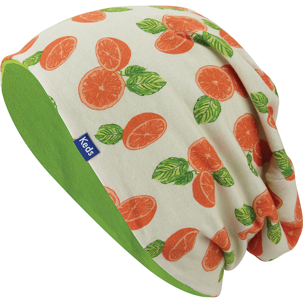 Keds Sublimated Beanie Citrus Painterly Fruit Keds Hats Gloves Scarves