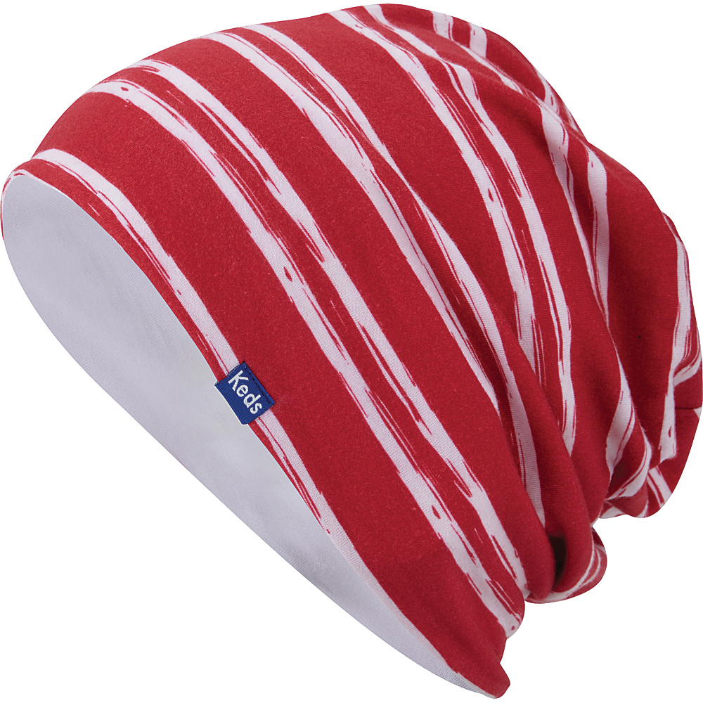 Keds Sublimated Beanie Rococco Red Keds Hats Gloves Scarves