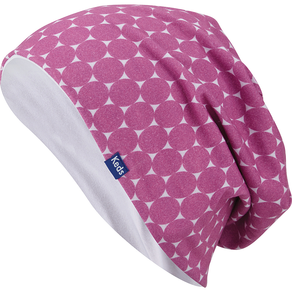 Keds Sublimated Beanie Super Pink Keds Hats Gloves Scarves