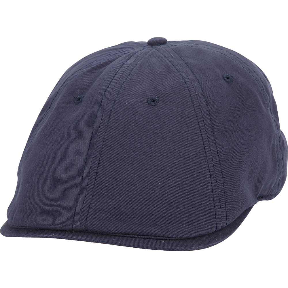 Ben Sherman Brushed Cotton Twill Driver Cap Navy - Ben Sherman Hats/Gloves/Scarves