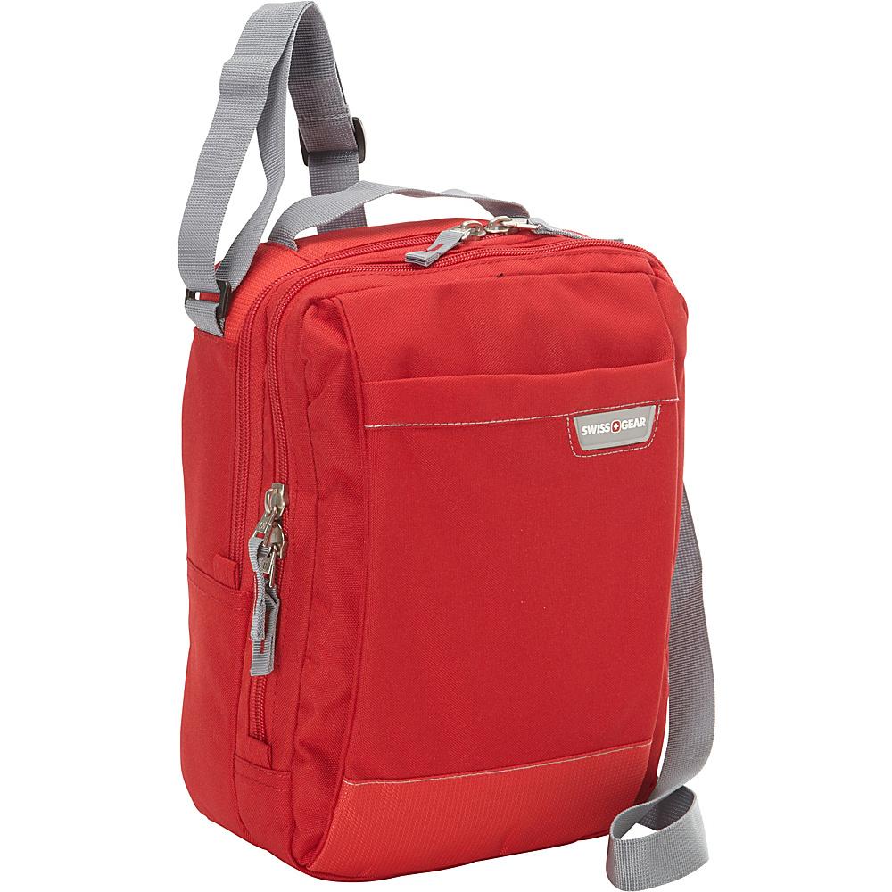 SwissGear Travel Gear Vertical Travel Bag Red SwissGear Travel Gear Messenger Bags