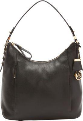 MICHAEL Michael Kors Bowery Large Shoulder Black - MICHAEL Michael Kors Designer Handbags