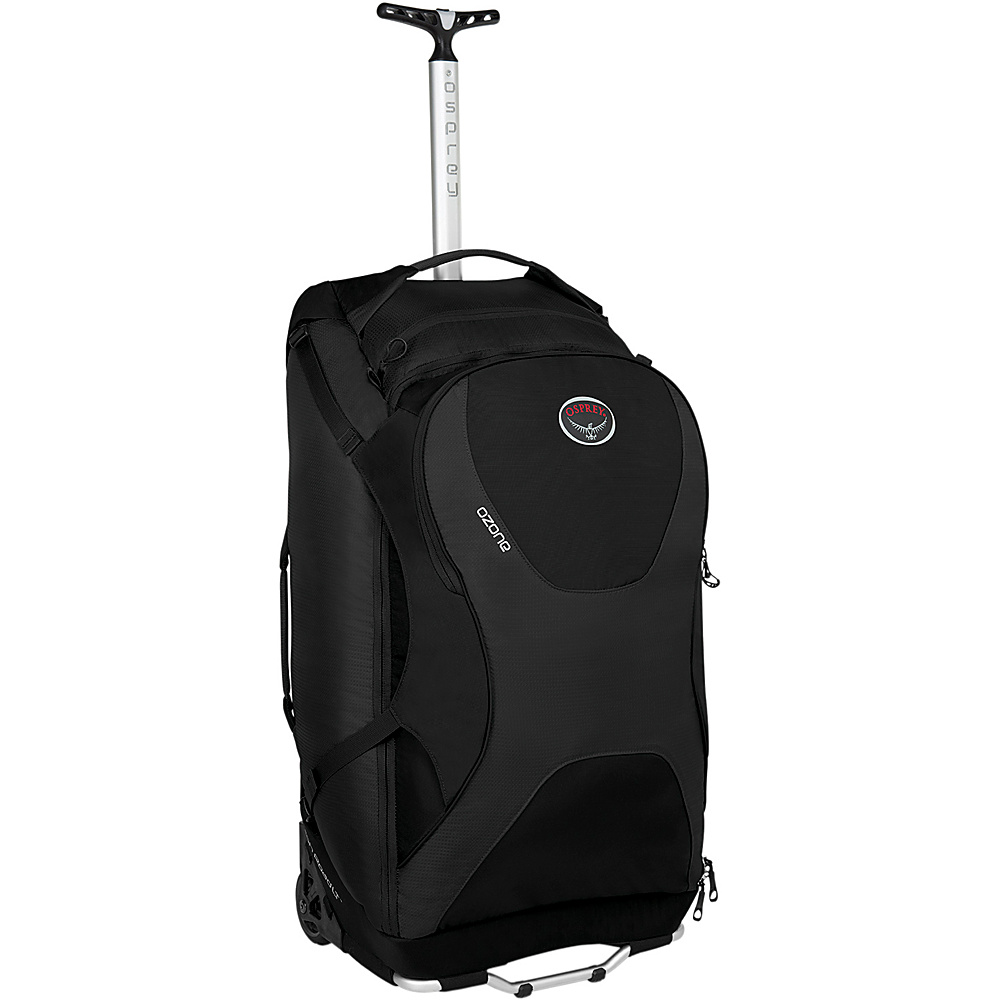 Osprey Ozone 28 inch/80L Black- DISCONTINUED - Osprey Softside Checked - Luggage, Softside Checked