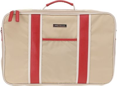 Perry Mackin Weekender Red - Perry Mackin Luggage Totes and Satchels