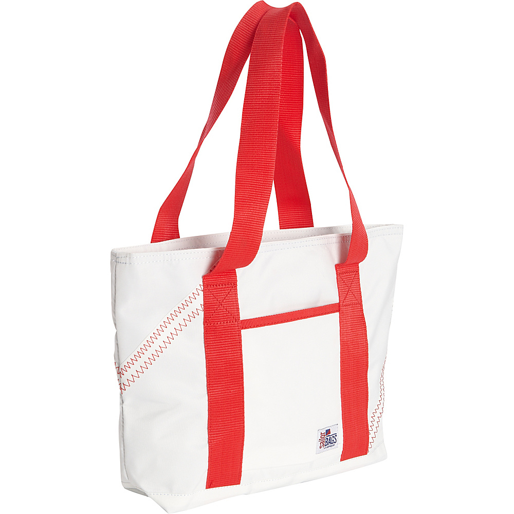 SailorBags Mini Tote White/Red - SailorBags All-Purpose Totes
