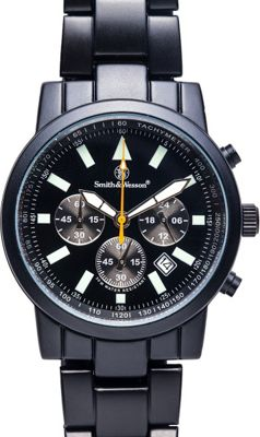 smith wesson watches pilot with stainless steel
