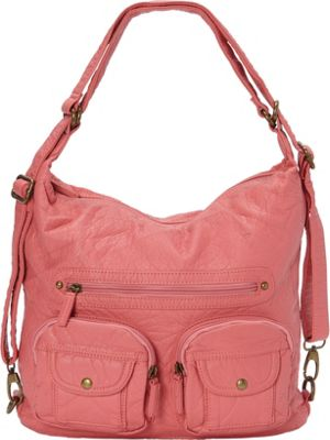 Ampere Creations Convertible Backpack Crossbody Purse New...