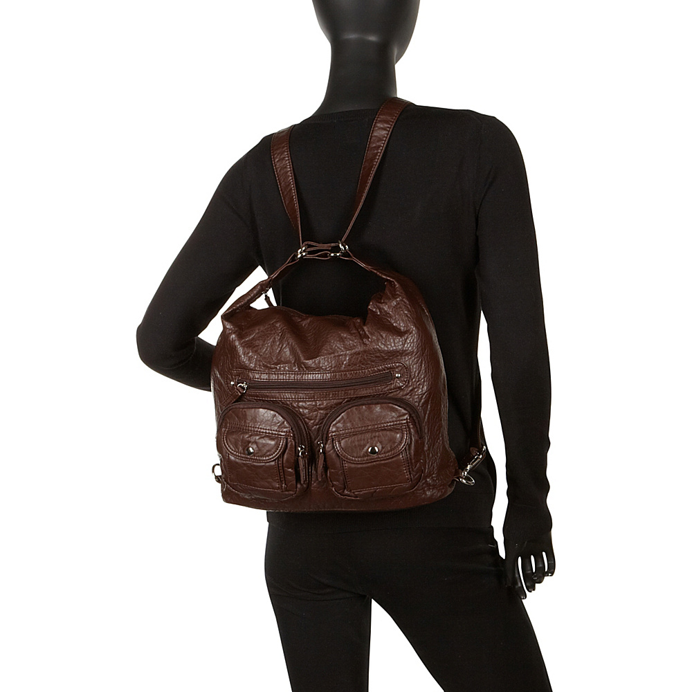 Ampere Creations Convertible Backpack Crossbody Purse Cross-Body ...