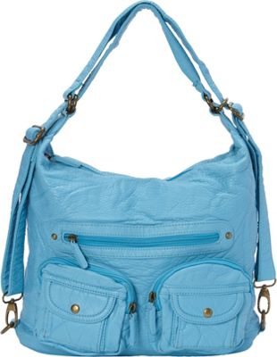 Ampere Creations Convertible Backpack Crossbody Purse Ser...