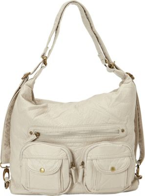 Ampere Creations Convertible Backpack Crossbody Purse Tau...