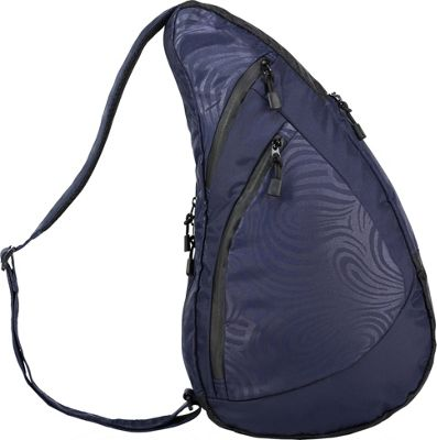 AmeriBag Great Outdoors Healthy Back Bag  Medium Indigo - AmeriBag Fabric Handbags