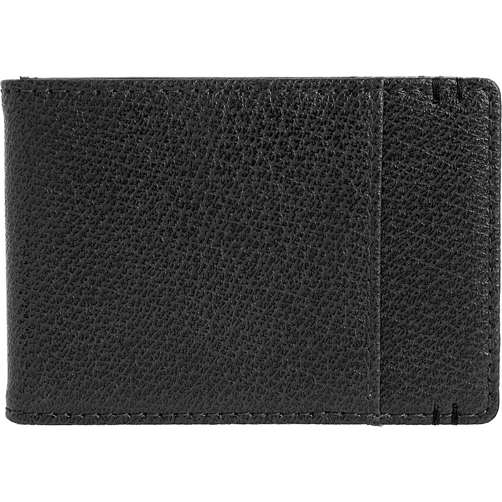 Lodis Stephanie Bi-Fold Money Clip with RFID Protection Black - Lodis Men's Wallets