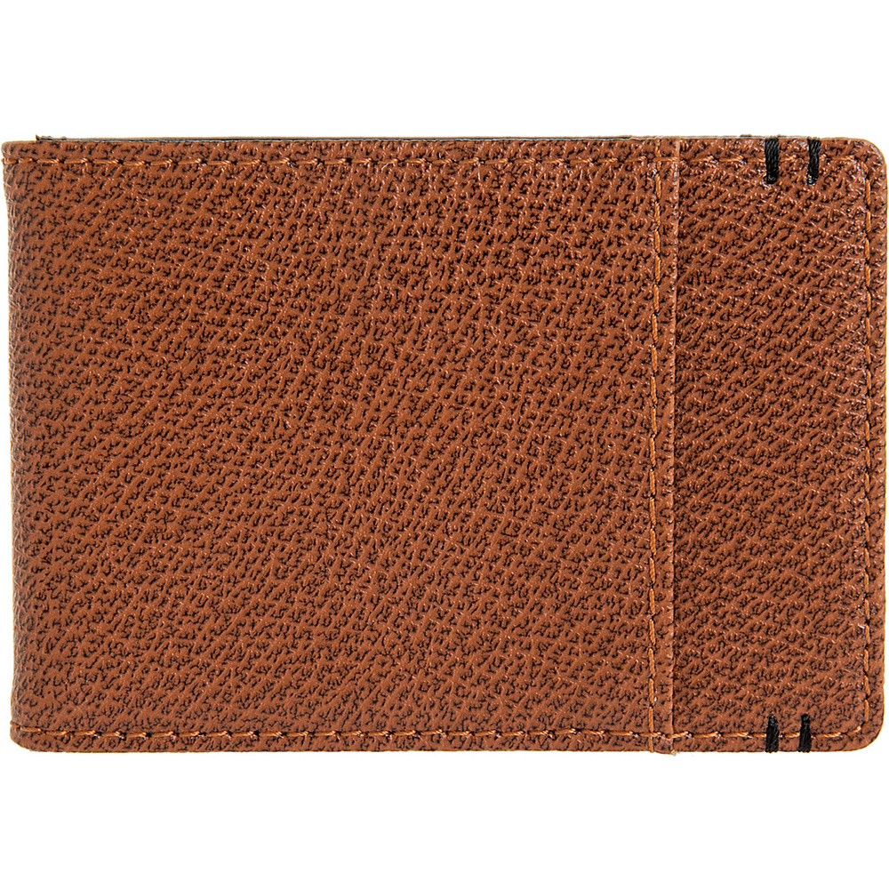 Lodis Stephanie Bi-Fold Money Clip with RFID Protection Chestnut - Lodis Men's Wallets