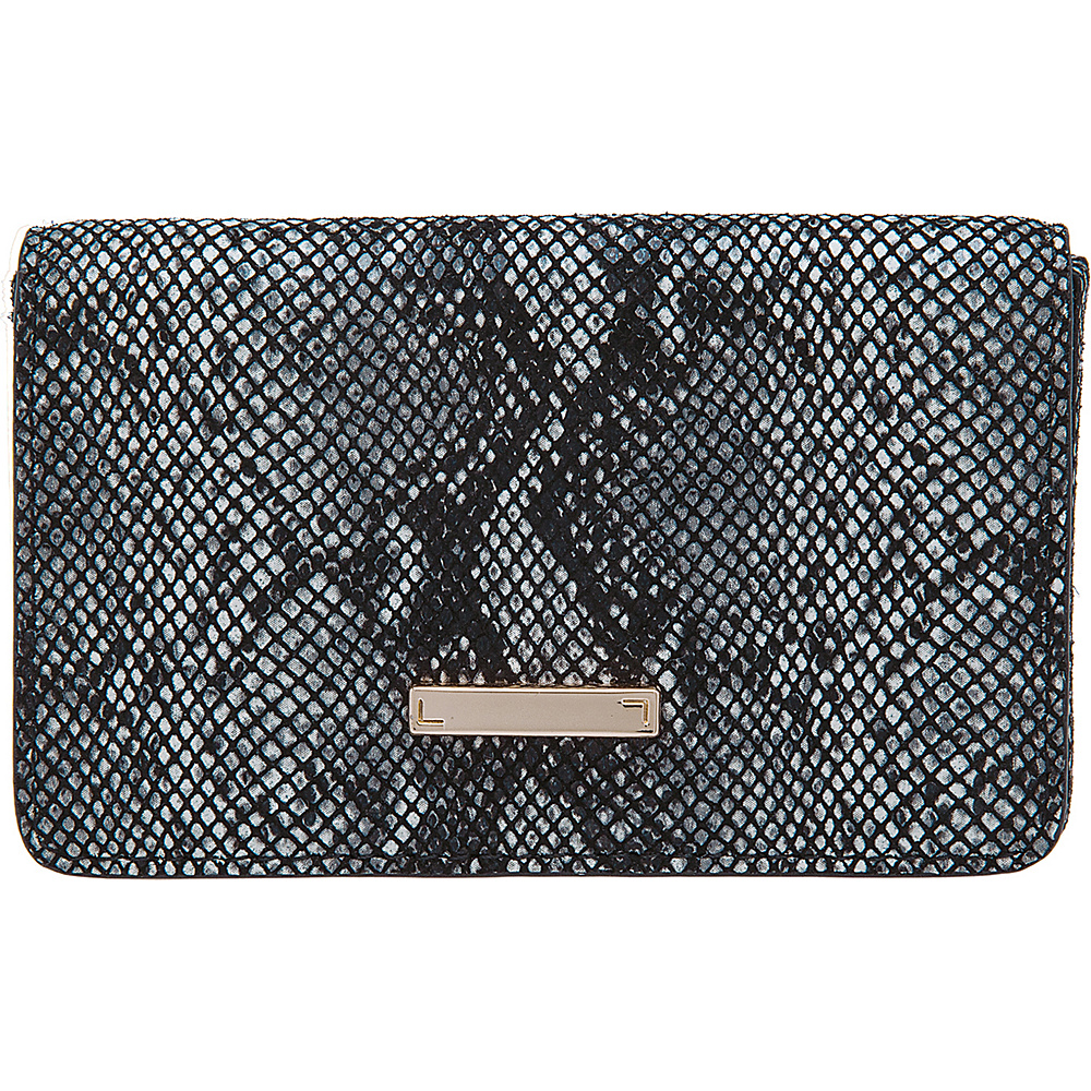 Lodis Vanessa Snake Mini Card Case Black Lodis Women s SLG Other
