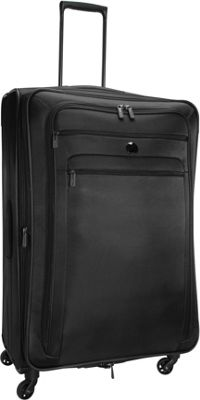 Delsey Helium Sky 2.0 29 inch Exp. Spinner Trolley Black - Delsey Softside Checked