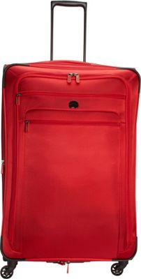 Delsey Helium Sky 2.0 29 inch Exp. Spinner Trolley Red - Delsey Softside Checked