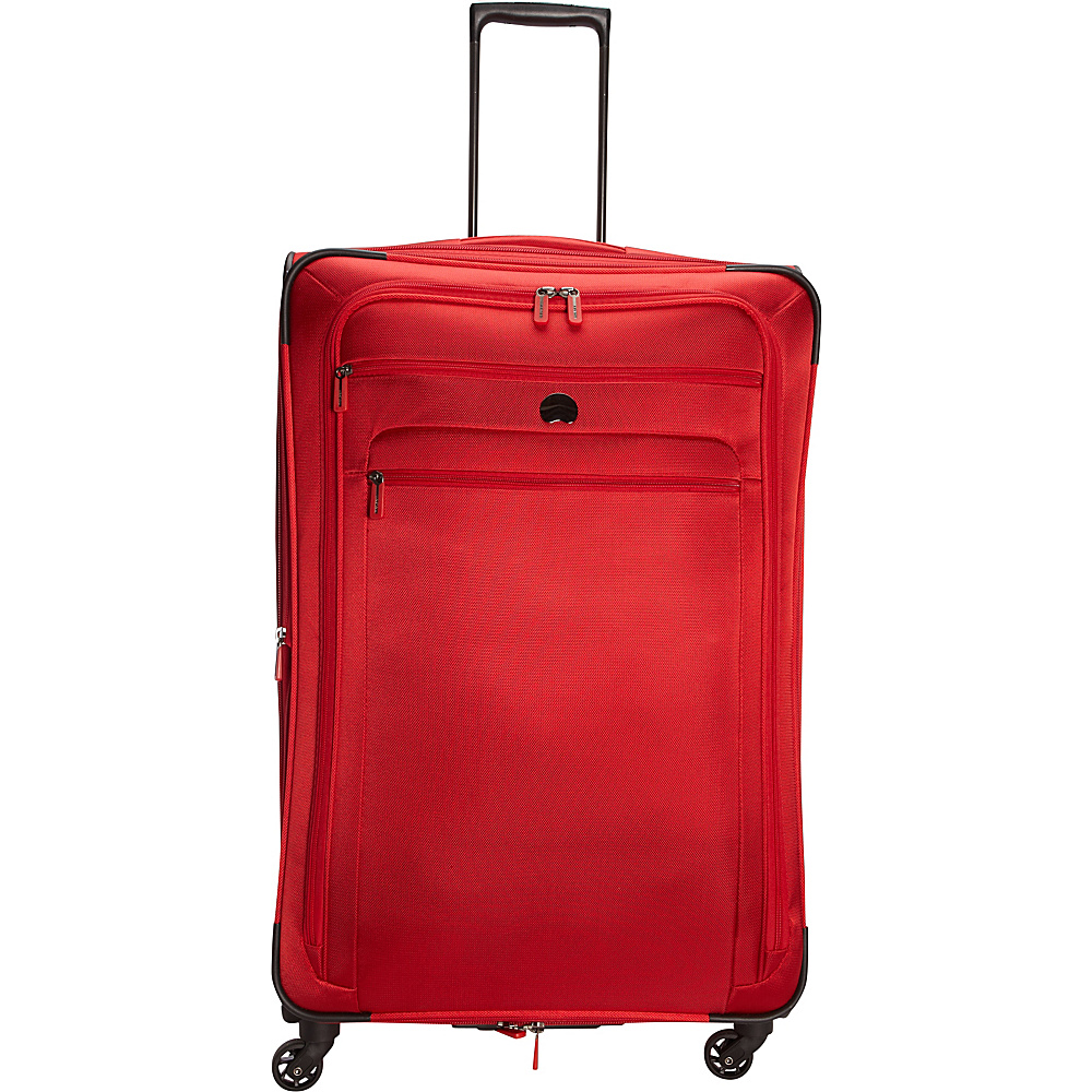 Delsey Helium Sky 2.0 29 Exp. Spinner Trolley Red Delsey Softside Checked