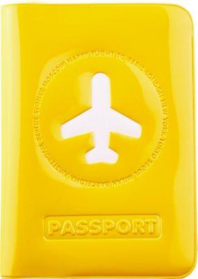 ALIFE DESIGN Alife Design Passport Cover Yellow - ALIFE DESIGN Travel Wallets