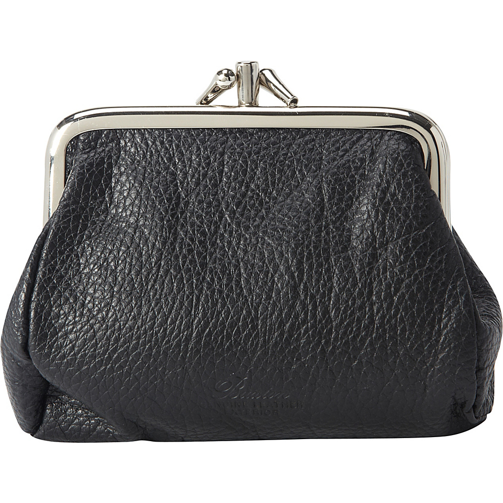 Buxton Hudson Pik-Me-UpTriple Frame- Exclusive Colors Black - Buxton Womens Wallets - Women's SLG, Women's Wallets