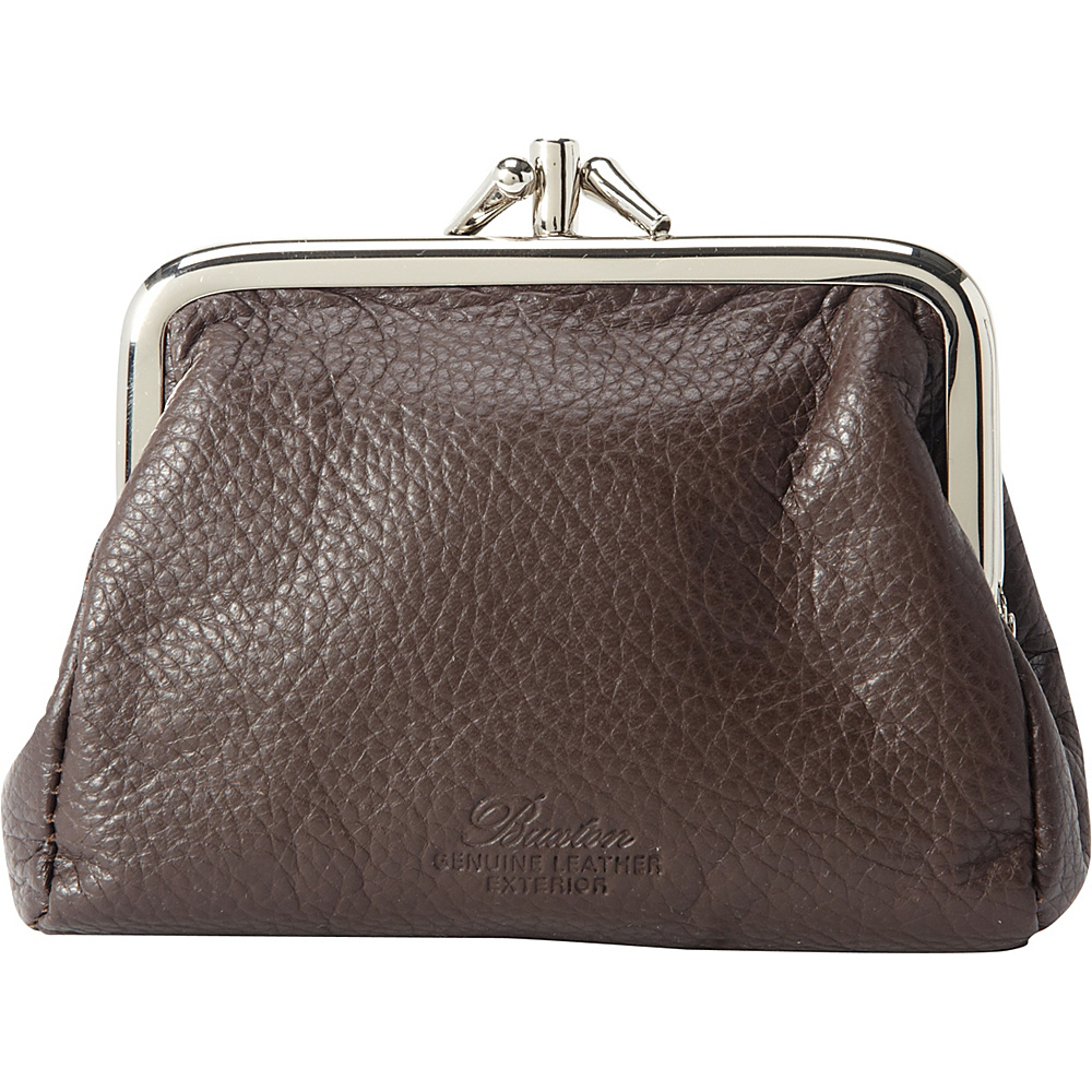 Buxton Hudson Pik-Me-UpTriple Frame- Exclusive Colors Chocolate Brown - Buxton Womens Wallets - Women's SLG, Women's Wallets